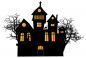 Preview: Fenstersticker Halloween Haus