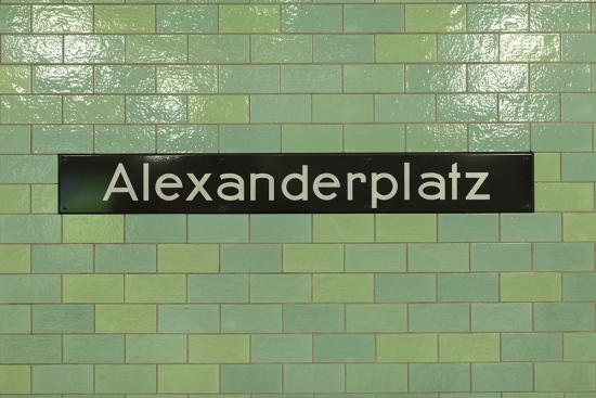 Berlin Alexanderplatz Photo Wallpaper