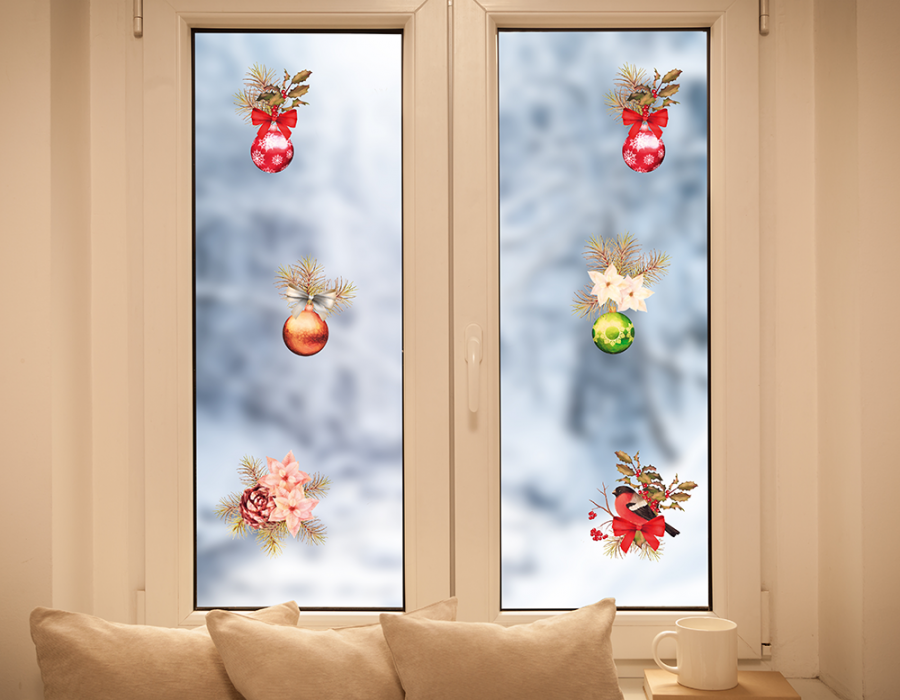 Christmas Decoration Window Sticker